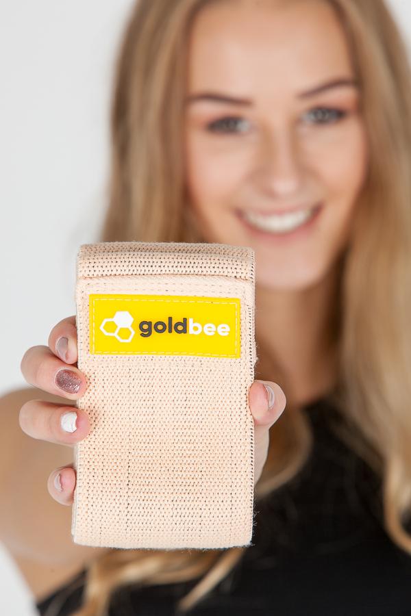GoldBee Textilní Odporová Guma Meruňková - M, M - 2