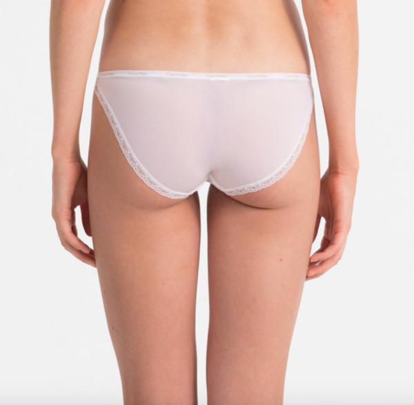 Calvin Klein Kalhotky Bottoms Up Bílé - L, L - 2