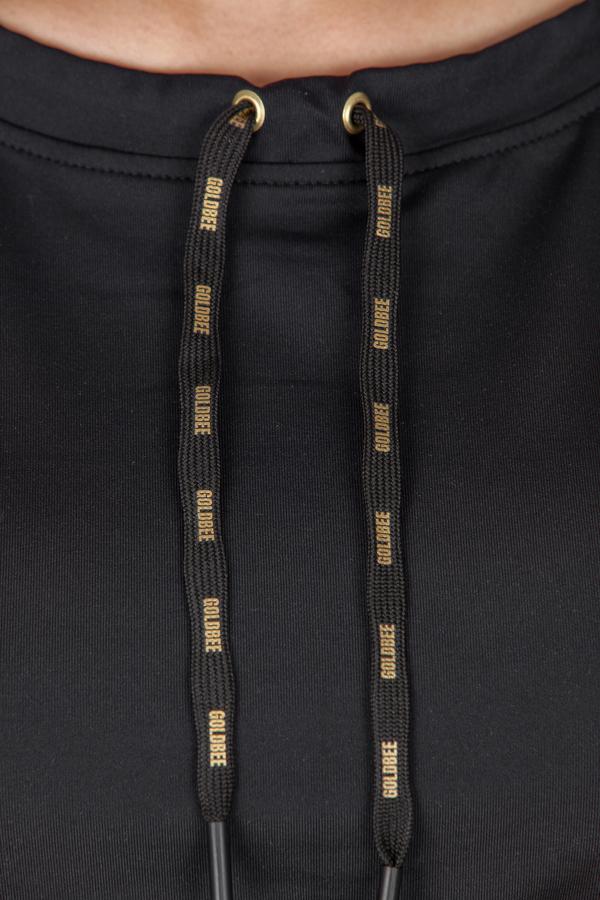 GoldBee CropTop BeCool Black - L, L - 3