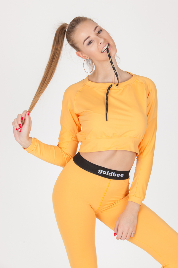 GoldBee Crop-Top BeCool Sweet Apricot, L - 3