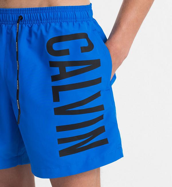 Calvin Klein Plavkové Šortky Intense Power Blue - L, L - 3