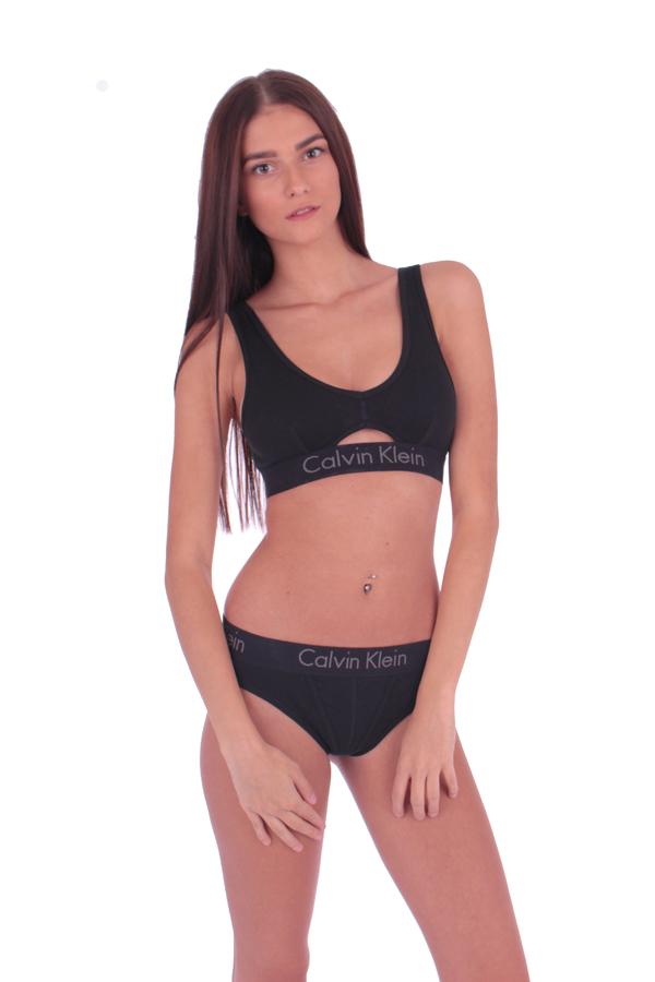Calvin Klein Thong Body Černé - 3