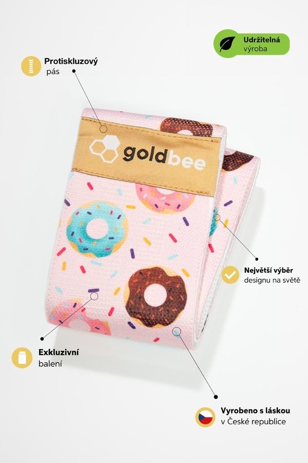 GoldBee BeBooty Pink Donuts, M - 3