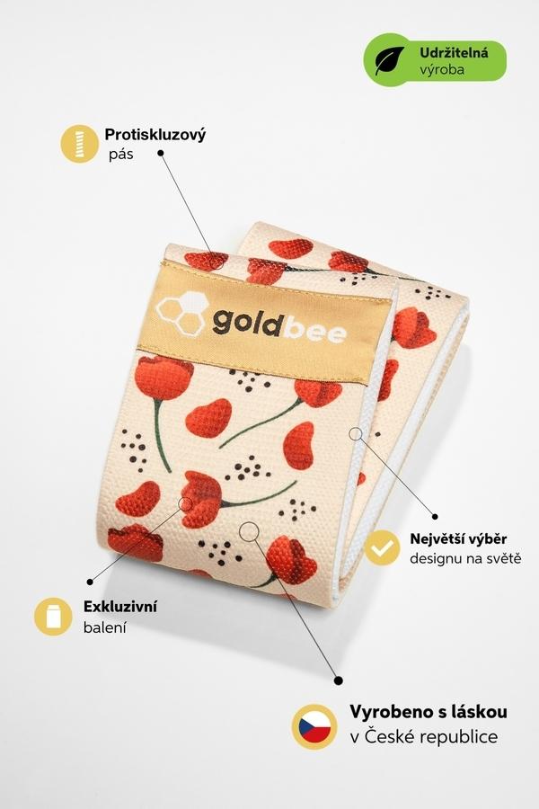 GoldBee BeBooty Poppies, M - 3