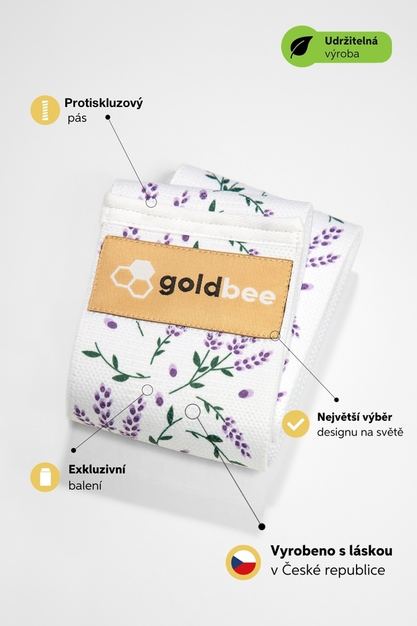 GoldBee BeBooty Lavender, M - 3