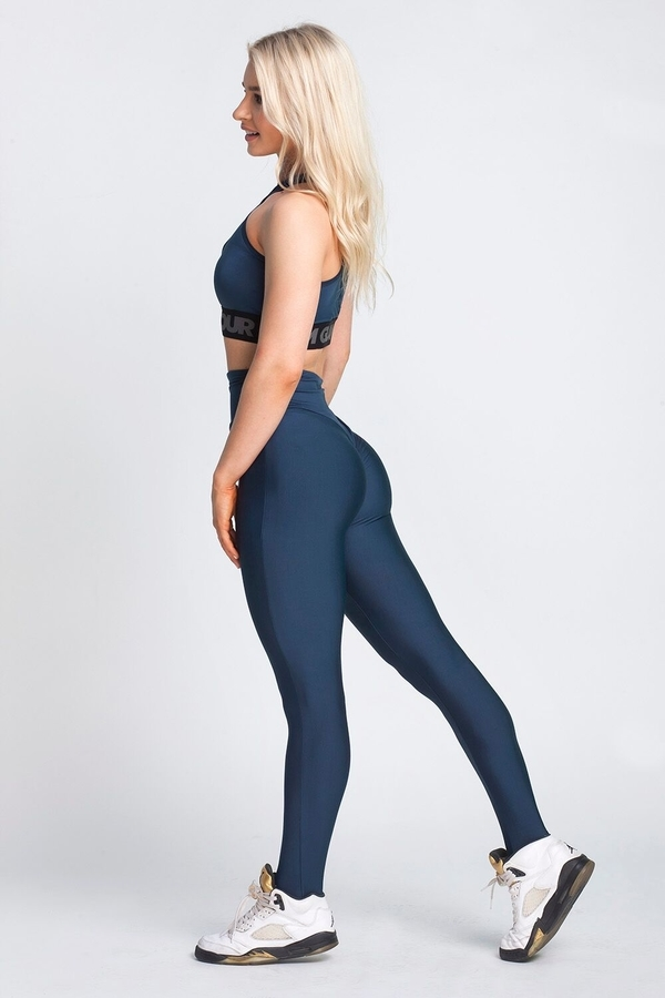 Gym Glamour Leggings High Waist Midnight Navy - 3