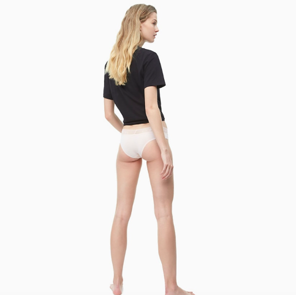 Calvin Klein Brazilky Logo Lace Nymphs Thigh - M, M - 3