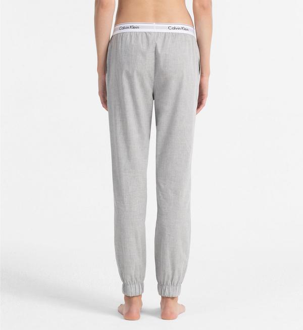 Calvin Klein Sweatpants Šedé - 3