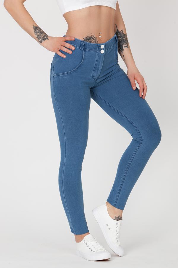 Boost Jeans Mid Waist P Light Blue - S, S - 3
