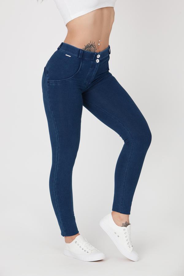 Boost Jeans Mid Waist Dark Blue Pre-Order - 3