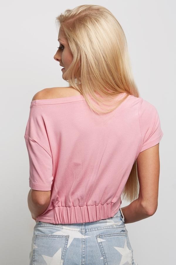 "Gym Glamour Short T-Shirt ""Nut Cracker"" Pink - 3"