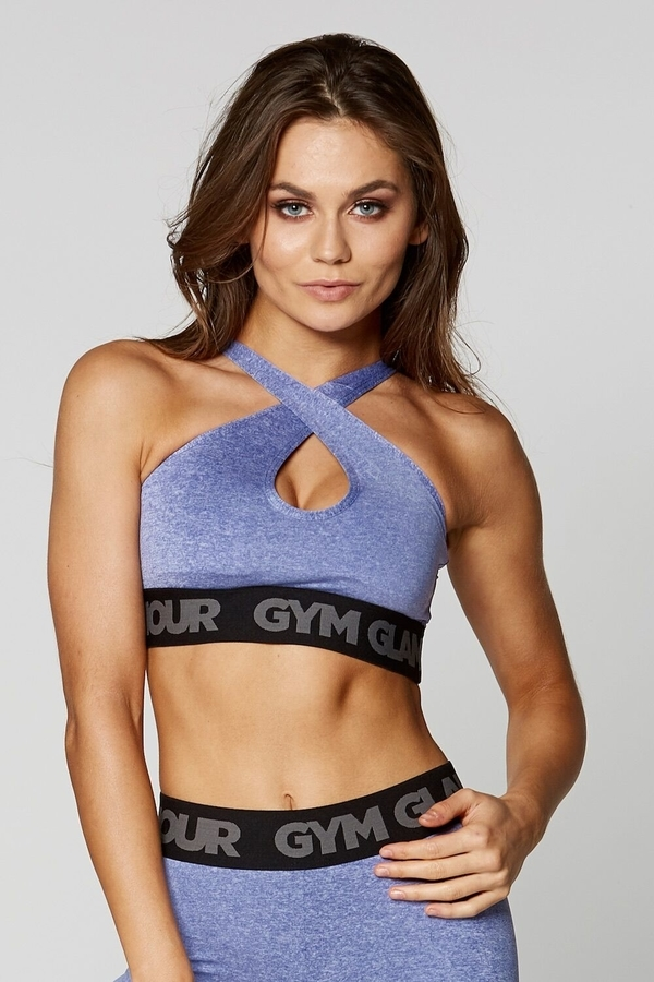 Gym Glamour Bra Purple Basic - 3