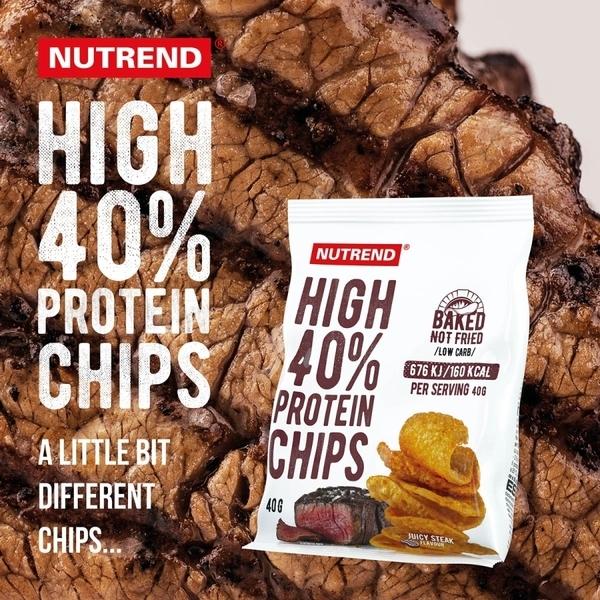 Nutrend Proteinové Chipsy Juicy Steak - 3