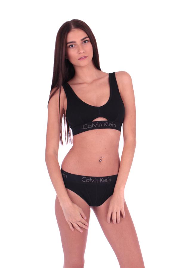 Calvin Klein Podprsenka Bralette Body Černá S Průřezem - L, L - 3