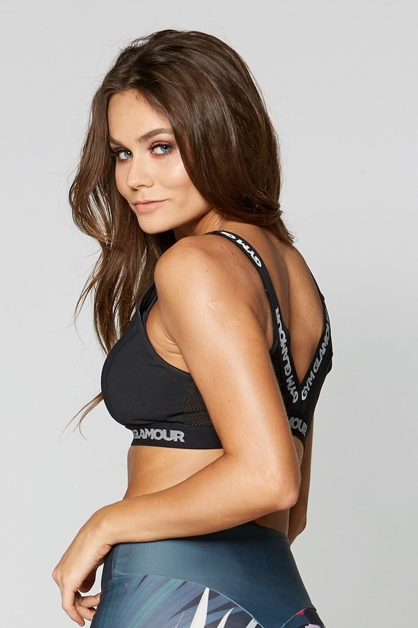 Gym Glamour Fitness Bra Black - 3