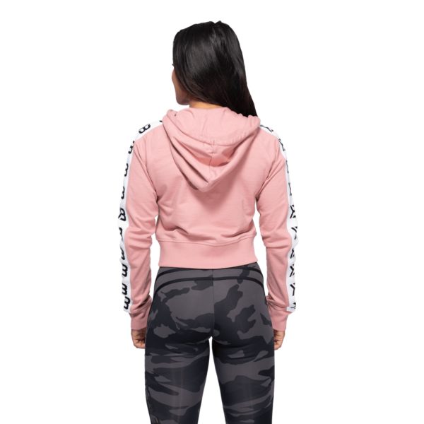 Better Bodies Cropped Hood Vesey Heather Pink - 3