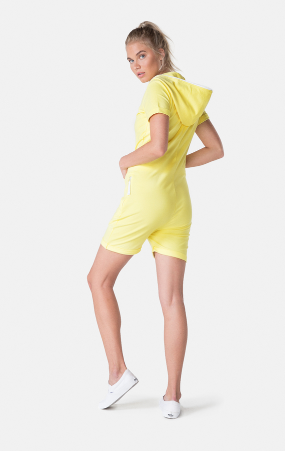 OnePiece Fitted Short Soft Yellow - XS, XS - 3