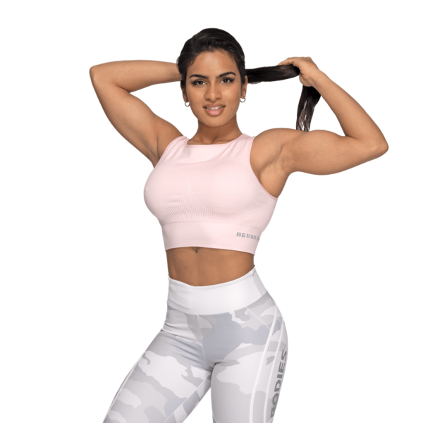 Better Bodies Top Rib Seamless Pale Pink Melange - M, M - 3