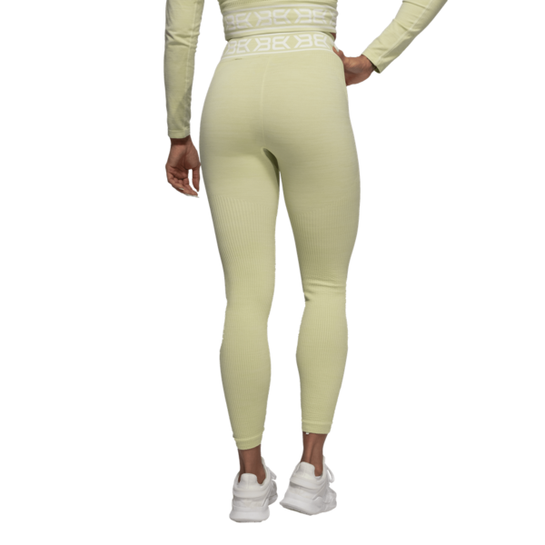 Better Bodies Legíny Rib Seamless Mellow Green Melange - S, S - 3