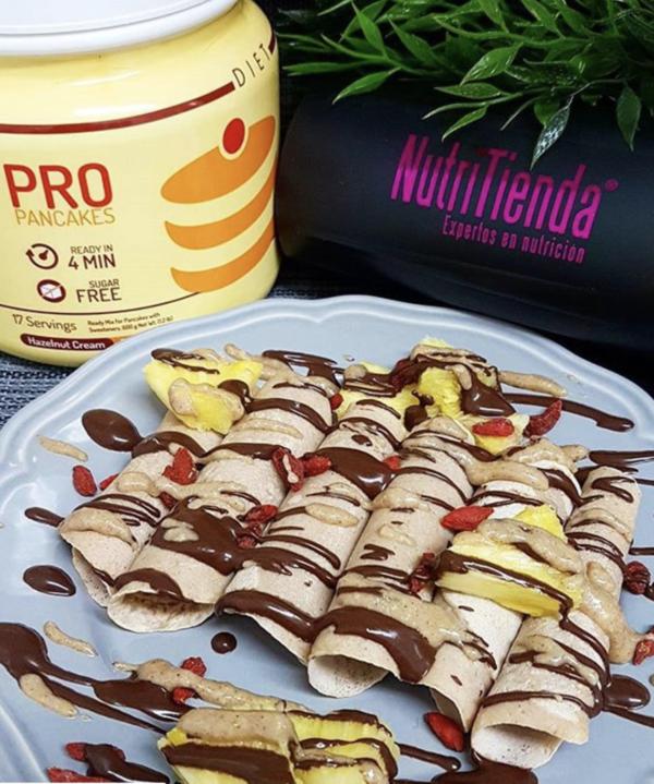 Pancakes Diet Pro Hazelnut Cream 1500g - 3