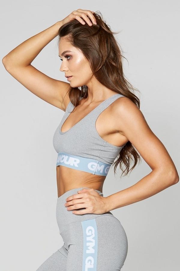 Gym Glamour Bra Grey Basic - 3