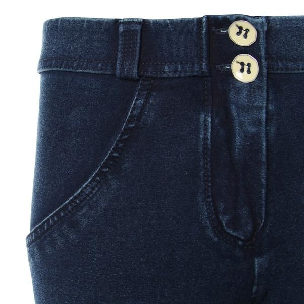 Freddy Jeans 7/8 Modré S Modrými Švy Normální Pas SS18 - XS, XS - 3