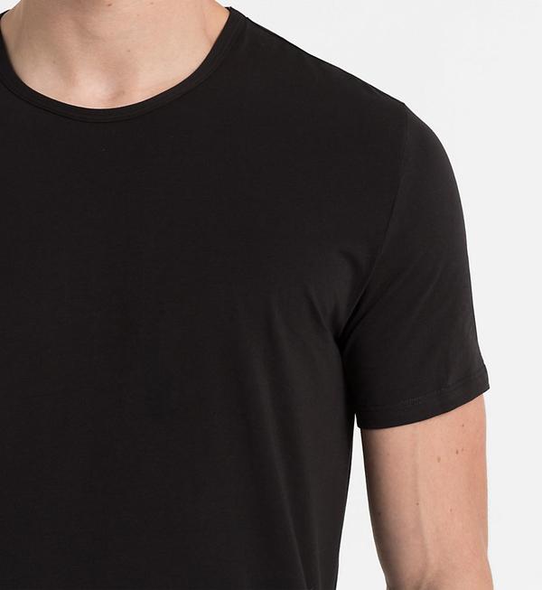 Calvin Klein Pánské Tričko CK Black - M, M - 3
