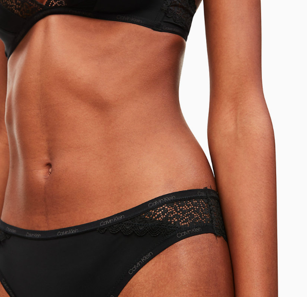 Calvin Klein Brazilky Flirty Černé - XS, XS - 3