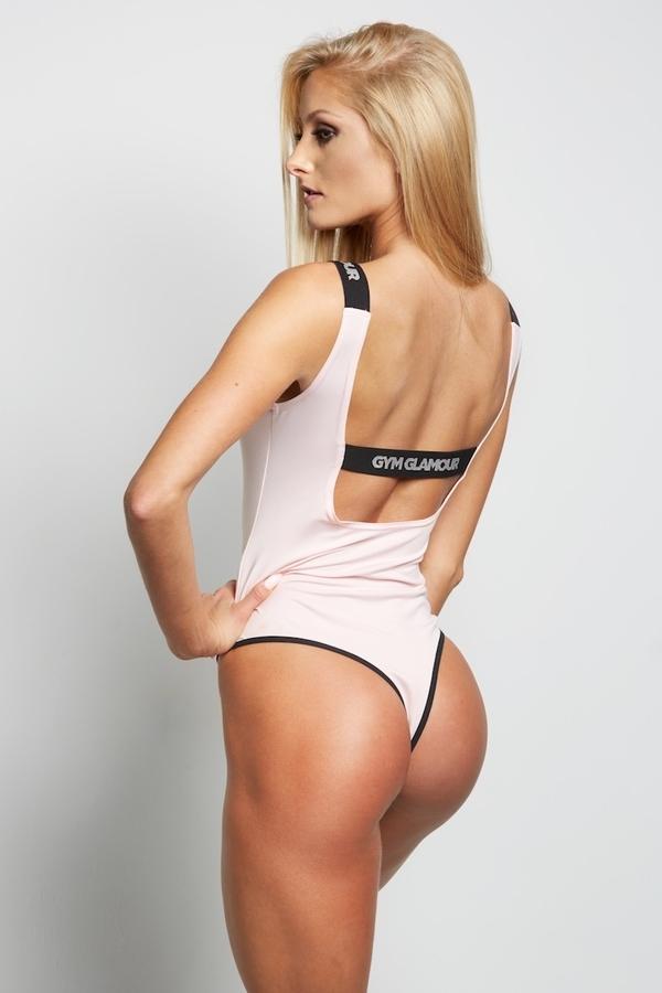 Gym Glamour Bodyčko Baby Pink - M, M - 3