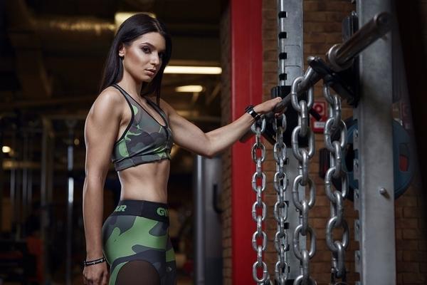 Gym Glamour Podprsenka Moro Intensive - S, S - 3