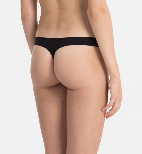 Calvin Klein Thong Perfectly Fit Černé - L, L - 3