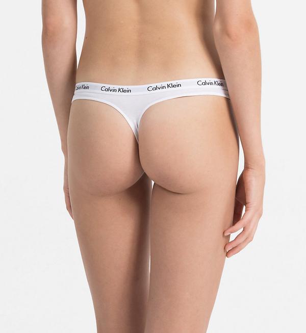 Calvin Klein 3Pack Thong Black&White - XS, XS - 3
