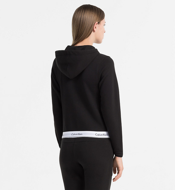Calvin Klein Mikina Se Zipem Černá - XS, XS - 3