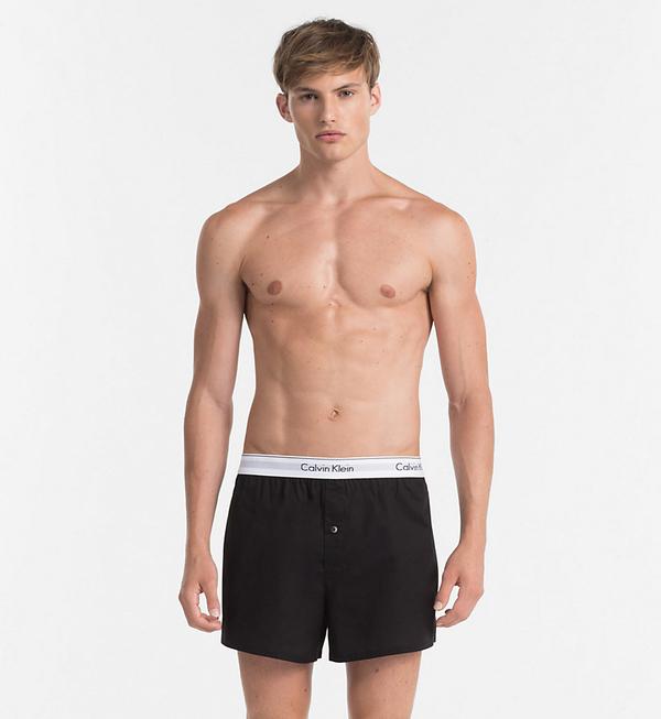 Calvin Klein 2Pack Trenky Black&Grey - M, M - 3