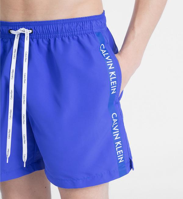 Calvin Klein Plavkové Šortky Modré - XL, XL - 3