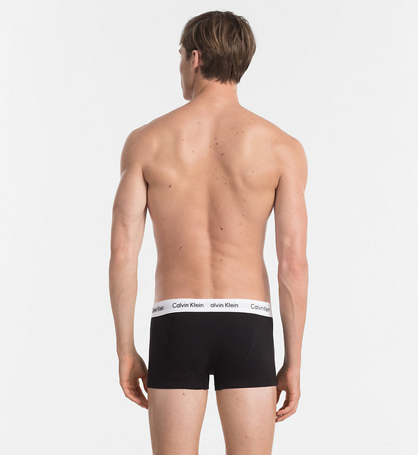 Calvin Klein 3Pack Boxerky Black LR - L, L - 3