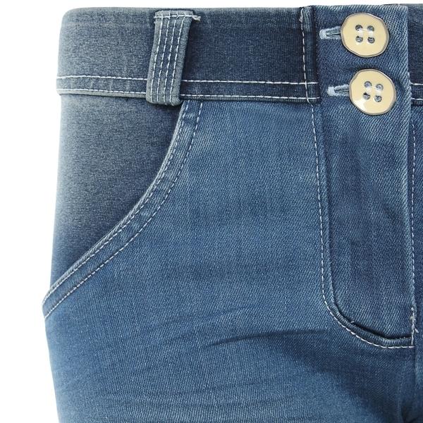 Freddy Jeans Světle Modré Vyšisované Normální Pas SS18 - S, S - 3