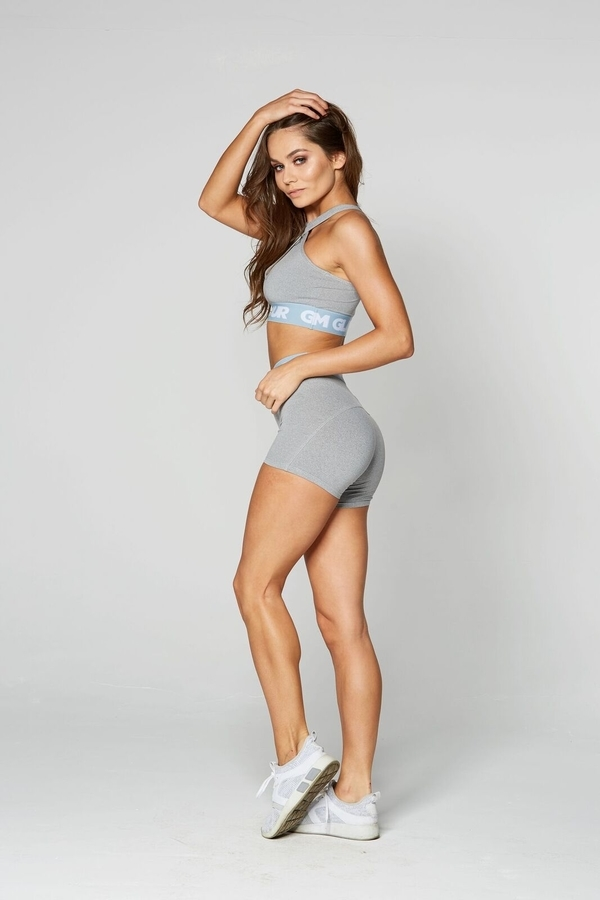 Gym Glamour Shorts Grey, XS - 3