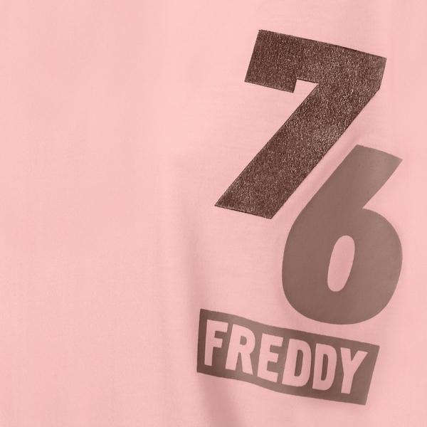 Freddy Oversize Triko Růžové - M, M - 3