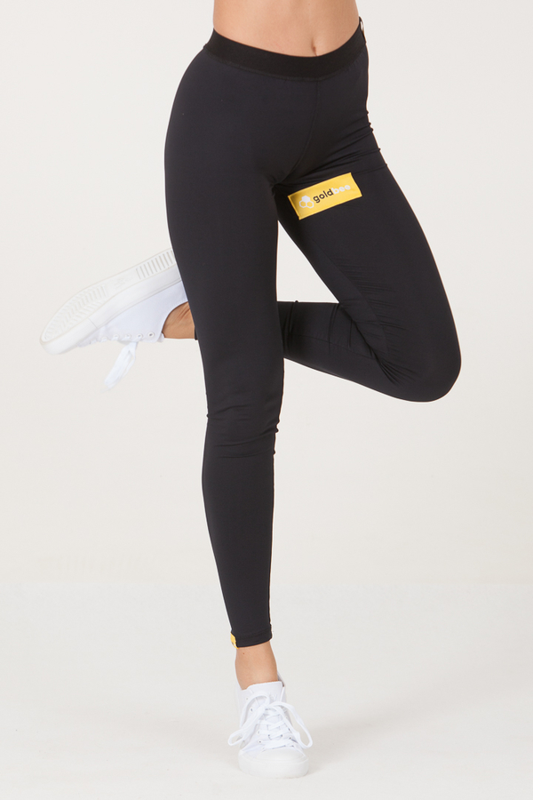 GoldBee Leggings BeSticker Inside Black - 3