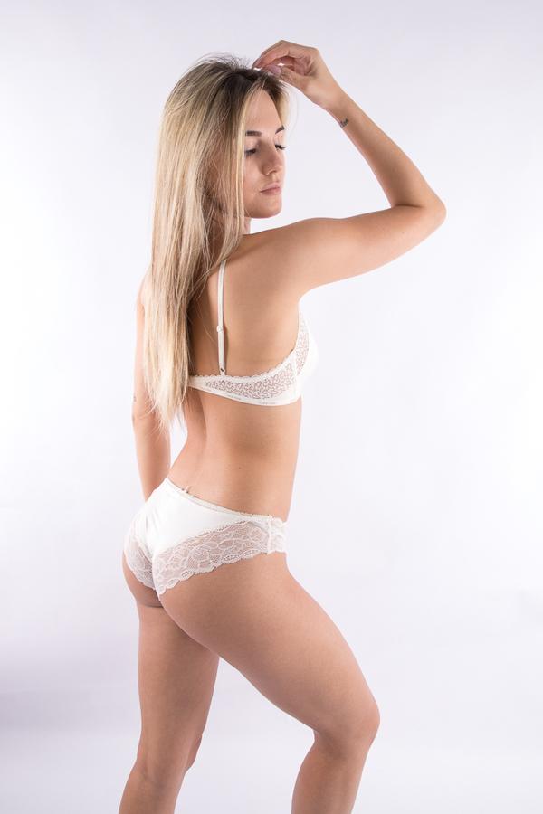 Calvin Klein Kalhotky Flirty Krémové - S, S - 3