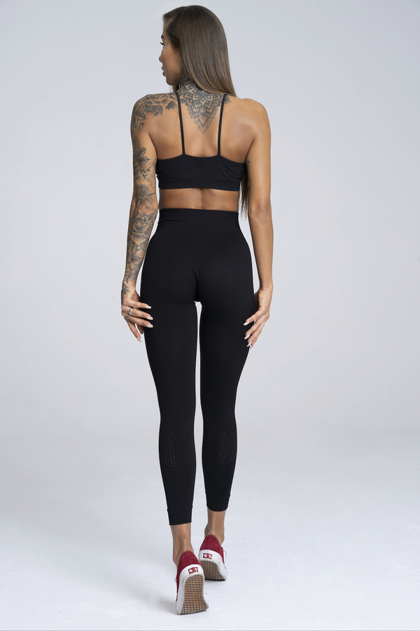 Gym Glamour Leggings Seamless Black - 3