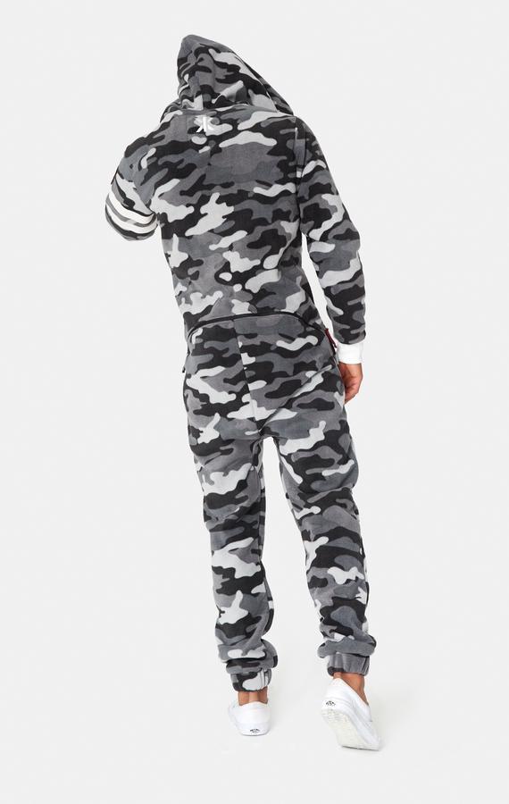 OnePiece Alps Camo Fleece Black - M, M - 3