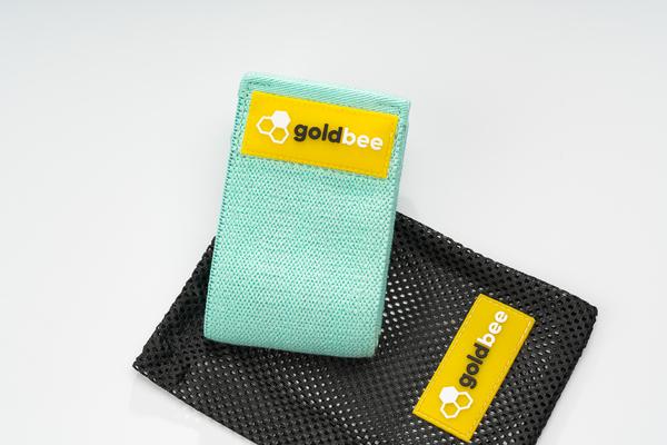GoldBee Textile Resistant Rubber - Turquoise, M - 3