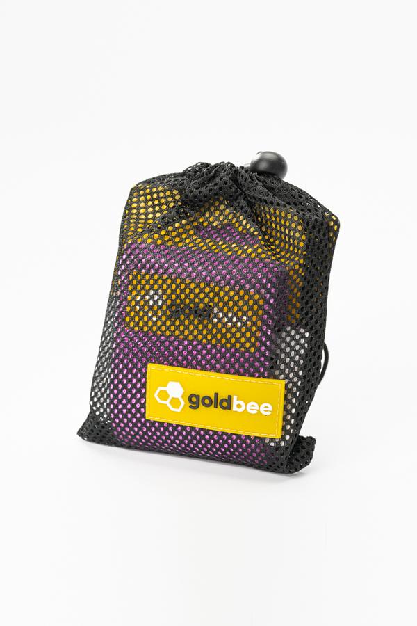 GoldBee Textile Resistant Rubber - Purple, M - 3