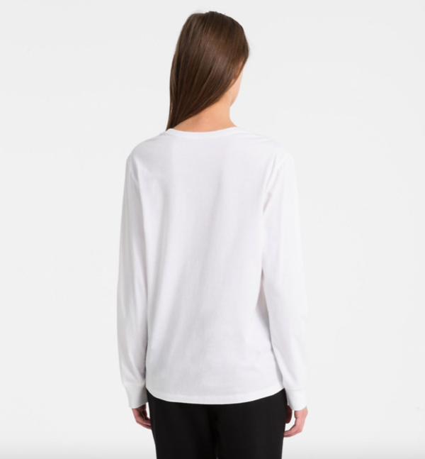 Calvin Klein Tričko Logo White - 3
