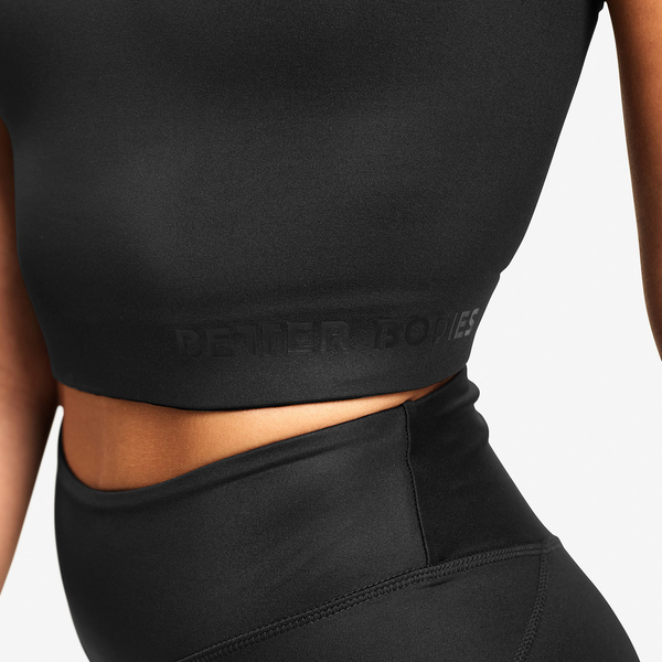 Better Bodies Top Vesey Strap Black - S, S - 3
