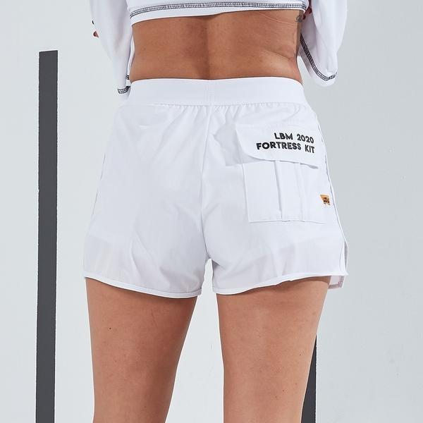 Labella Shorts Fortress Kit White - 3