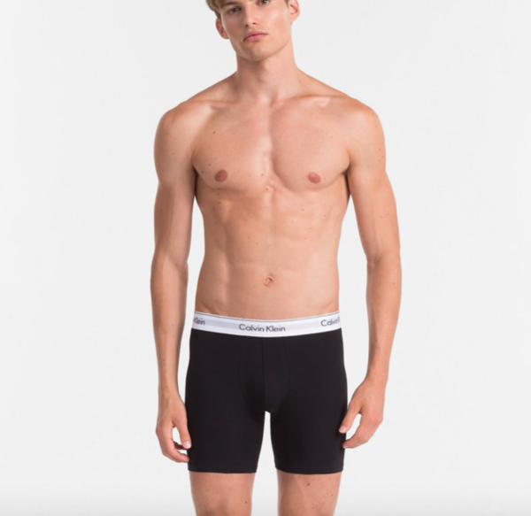 Calvin Klein 2Pack Boxerky Dlouhé Black&Grey - XL, XL - 3