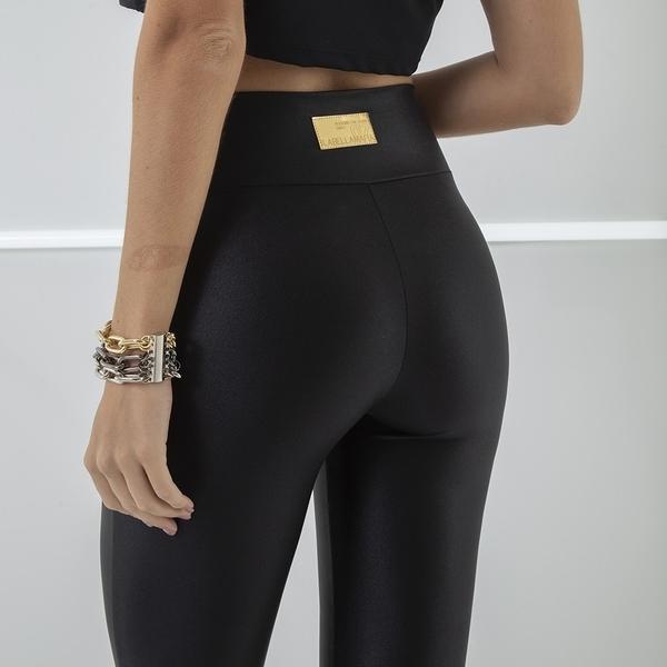 Labella Pants Leather Black - 3